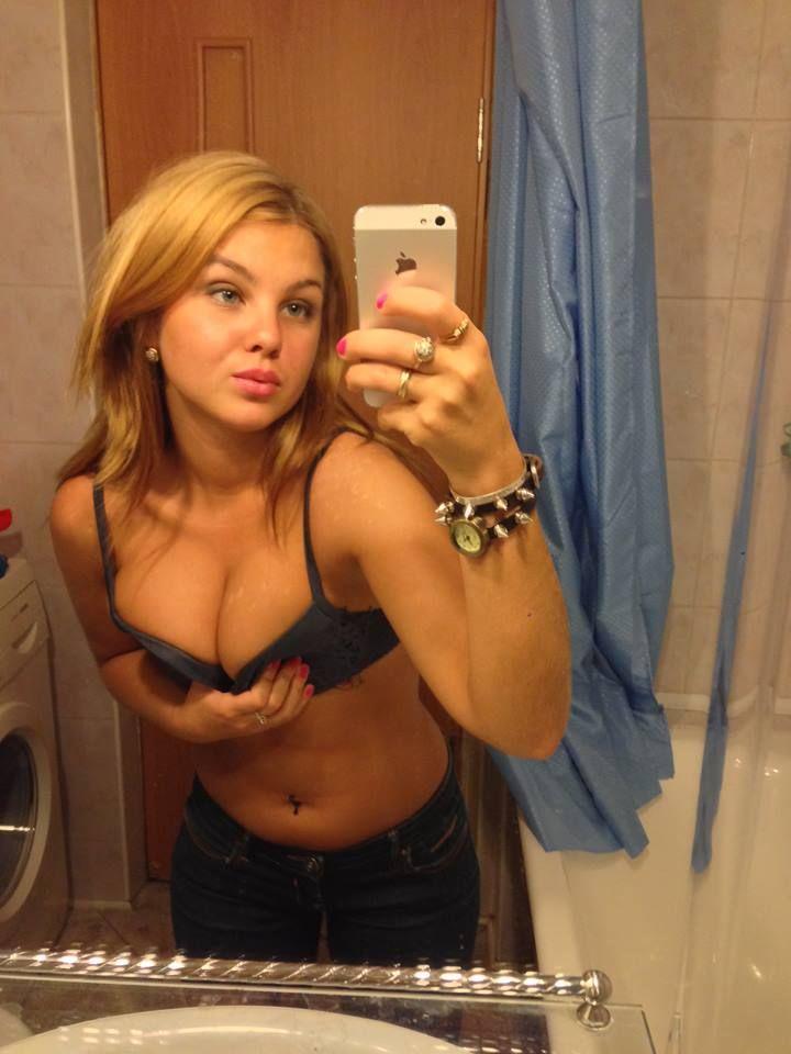 Amateur Girl steht auf live strippen